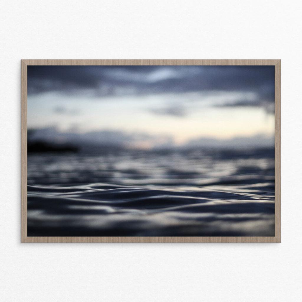 Plakat, hav, natur