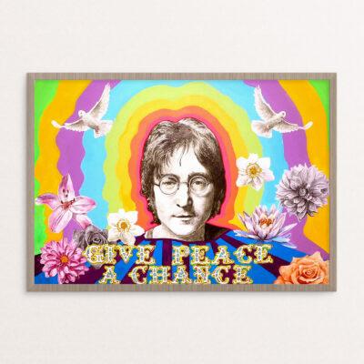 Plakat, hippie, JL